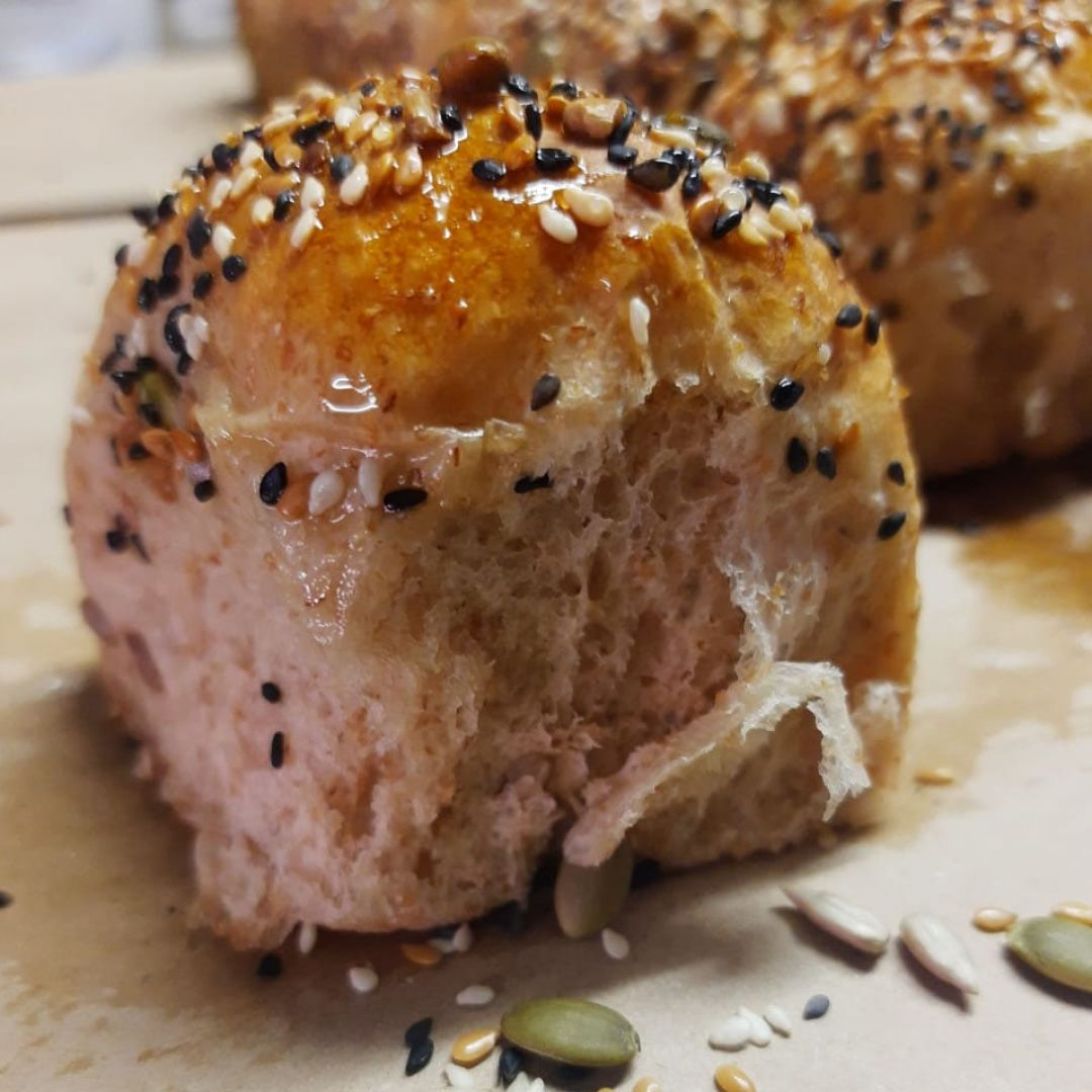 Pão semi-integral com 5 grãos Biomotive
