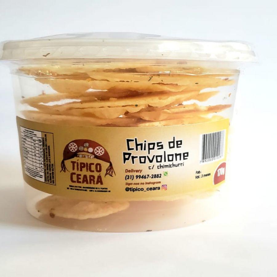 Chips de Provolone com Chimichurri Típico Ceará - 170gr