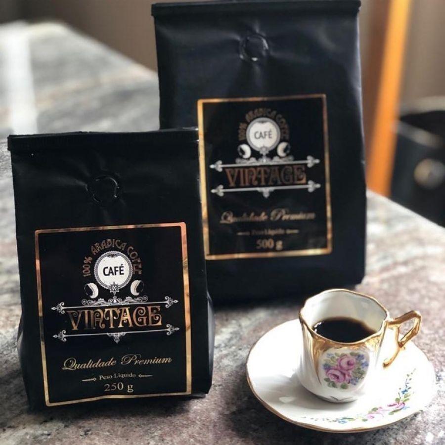 Café Vintage em grãos 250gr
