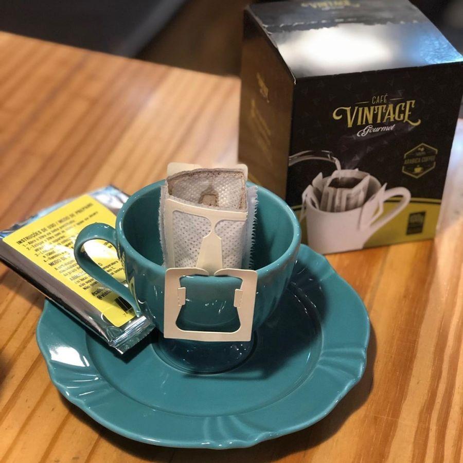 Café Vintage dose individual - caixa 10un