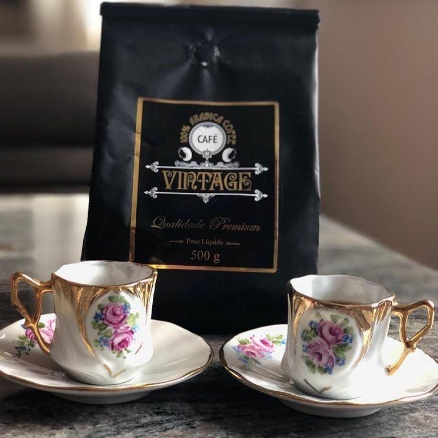 Café Vintage em grãos 500gr