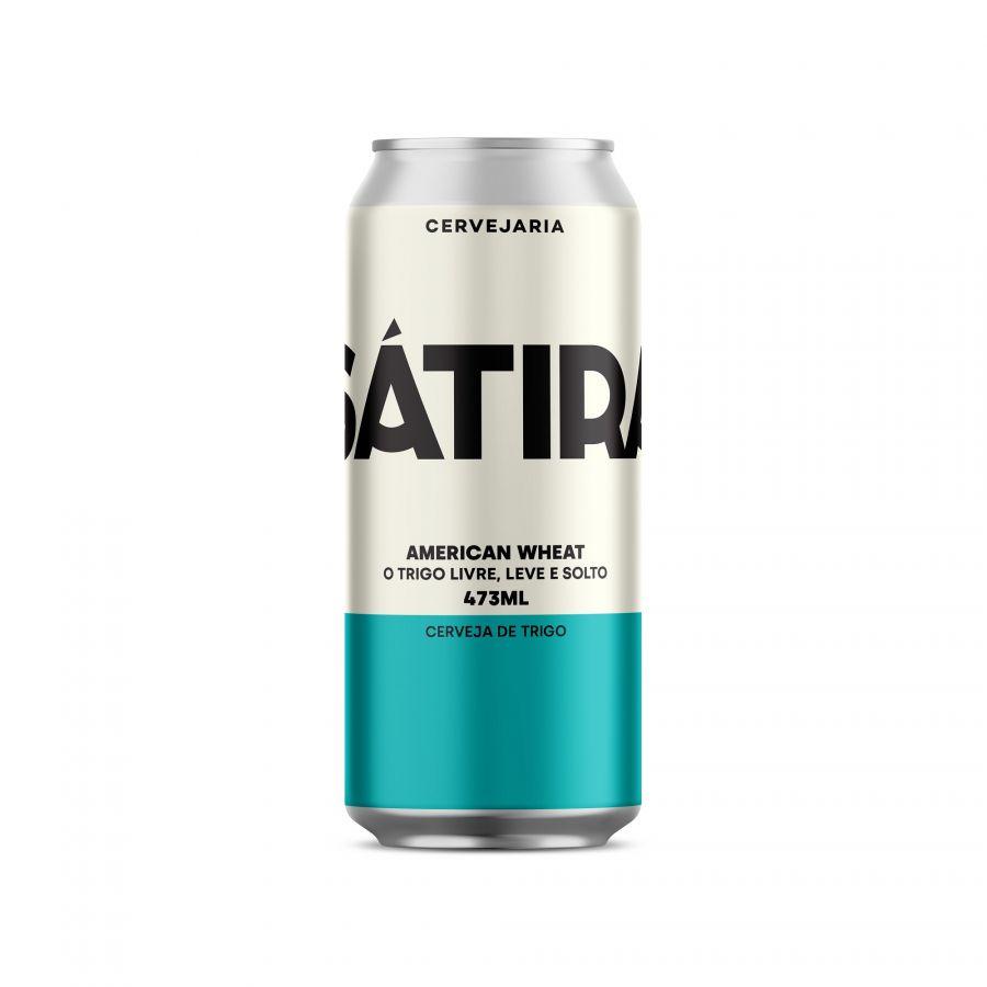 Cerveja Sátira American Wheat 473 ml