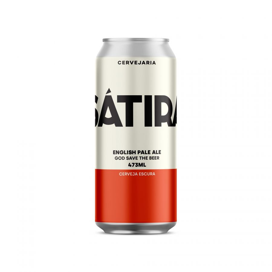 Cerveja Sátira English Pale Ale 473 ml
