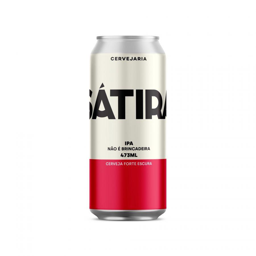Cerveja Sátira IPA (India Pale Ale) 473 ml