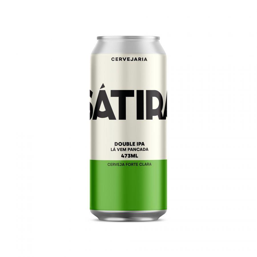 Cerveja Sátira Double IPA (Double India Pale Ale) 473 ml