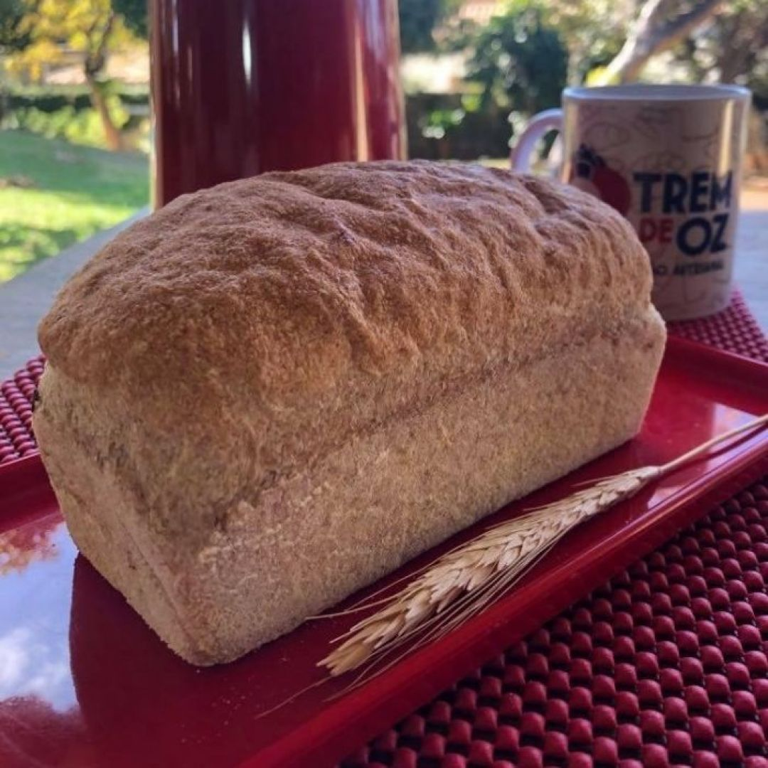 Pão 50% Integral (300g) - Trem de Oz