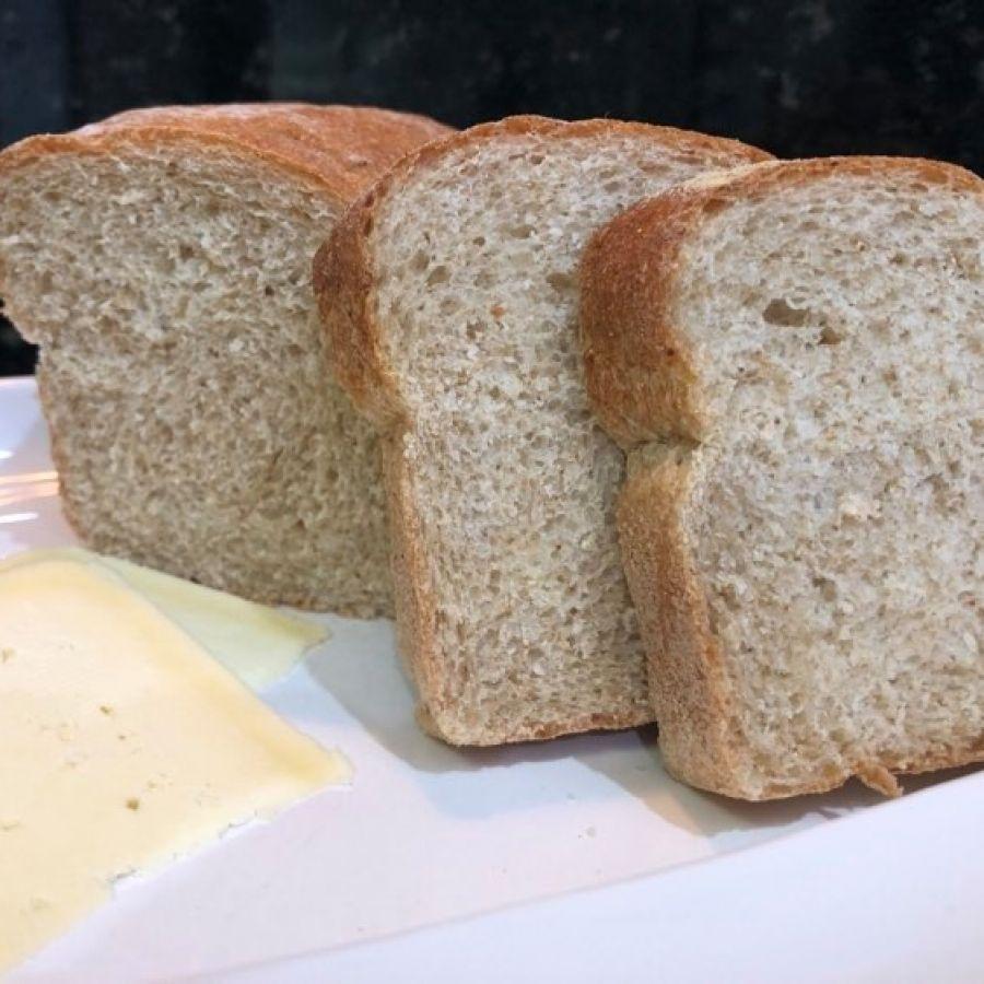 Pão 100% Integral com Malte (300g) – Trem de Oz