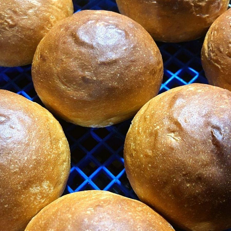 Pão Burger Malte (400g) - Trem de Oz