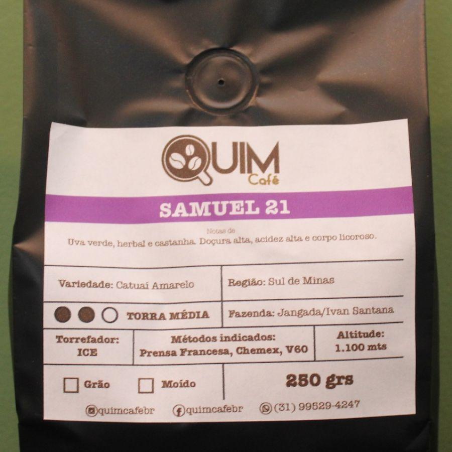 Samuel 08 Quim Café em grãos - 300gr