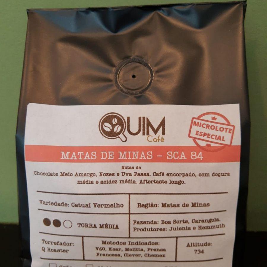 Microlote Matas de Minas Quim Café - Em grãos