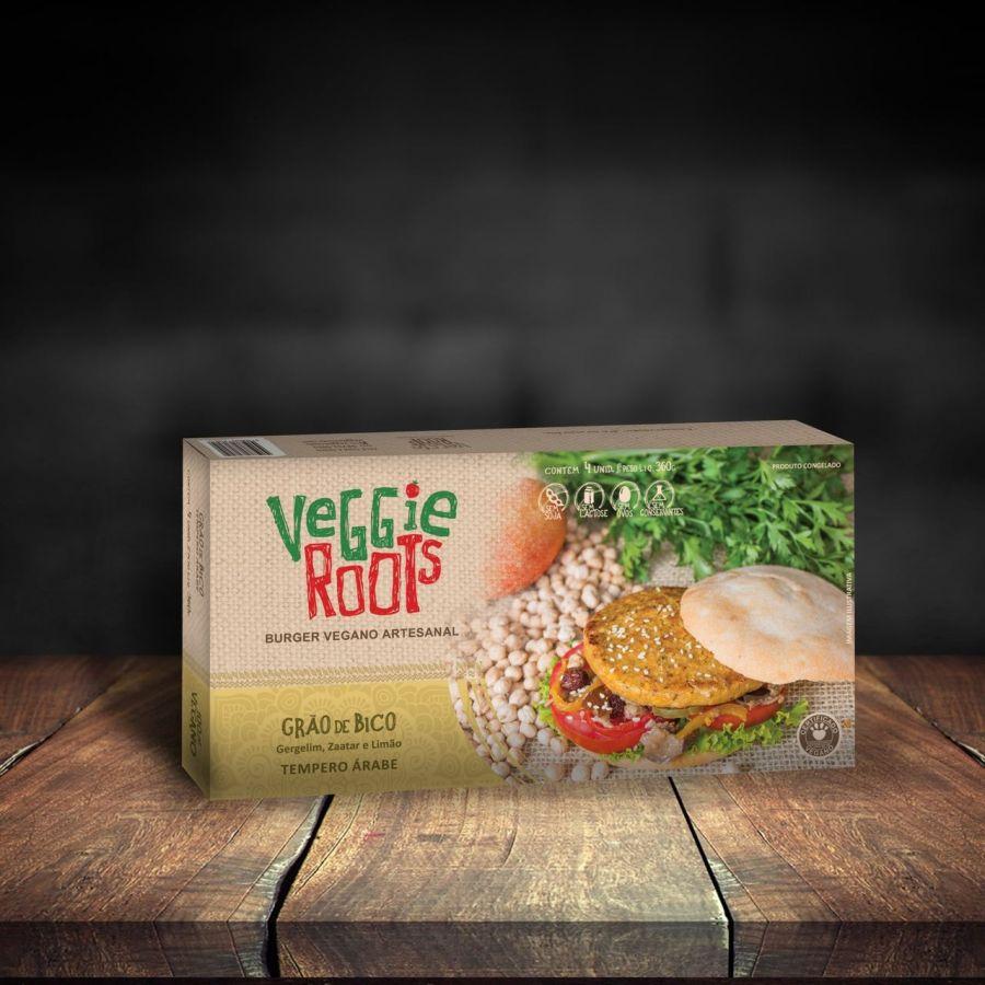 Burgers veganos – Sabor Árabe (360g) – Veggie Roots