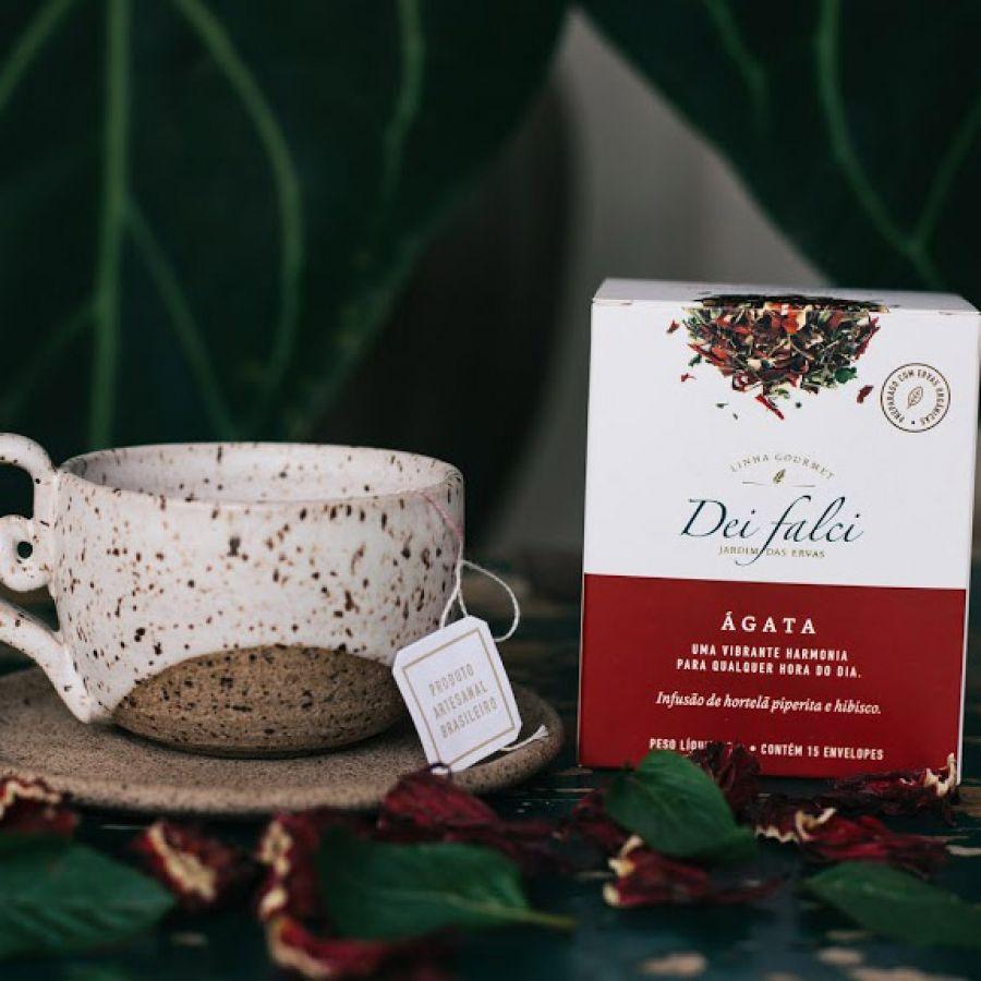 Chá Ágata Dei Falci Orgânicos - 4un