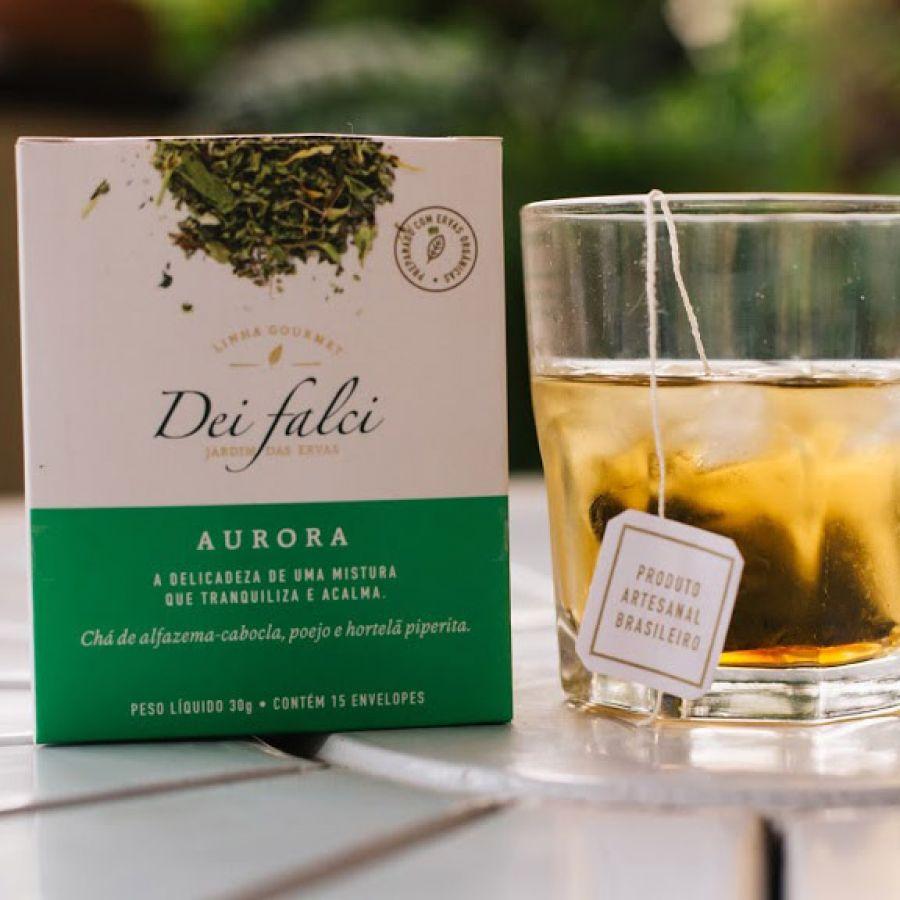 Chá Aurora Dei Falci Orgânicos - 4un
