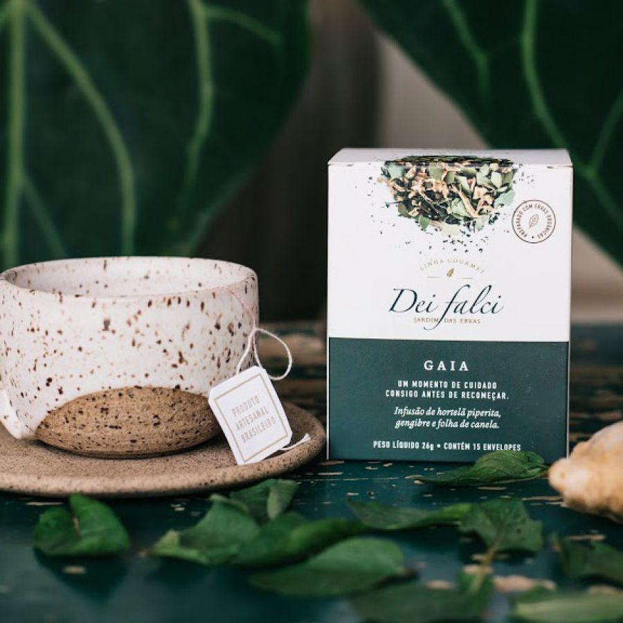 Chá Gaia Dei Falci Orgânicos - 4un