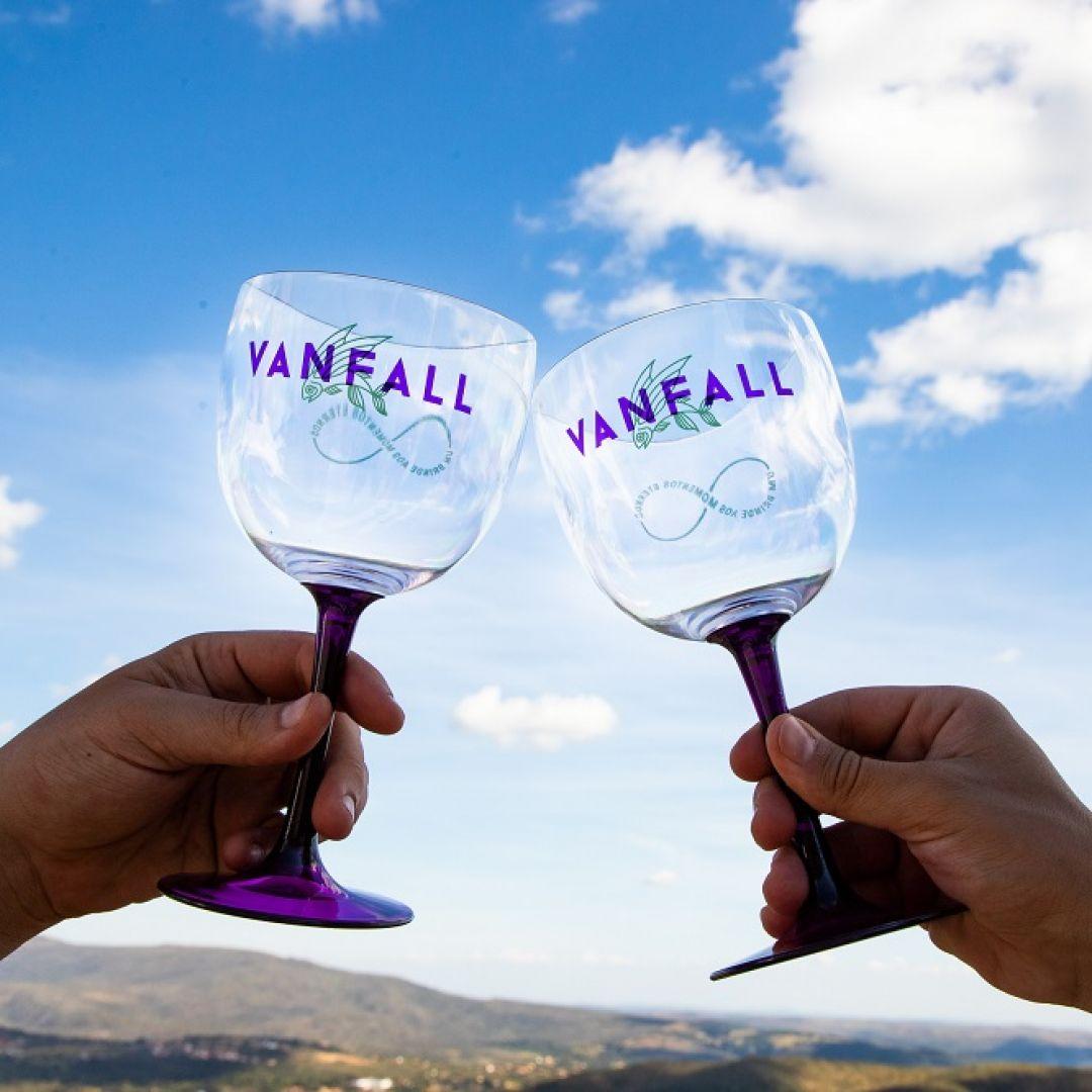 Taça de Acrílico Vanfall
