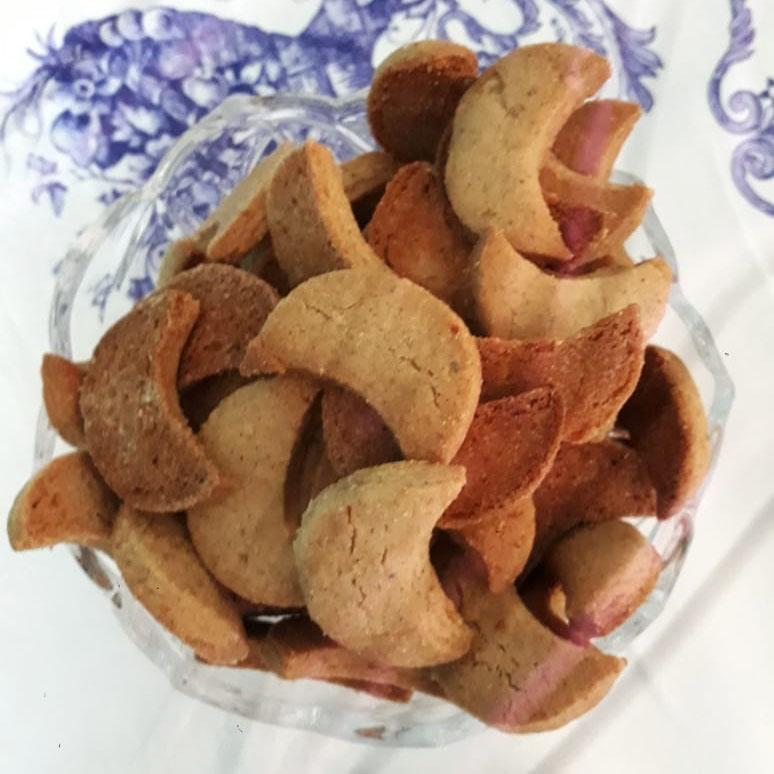 Biscoito alemão de Castanha de Caju Vanillekperfell Café com Petit Four - 130gr