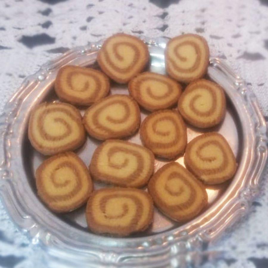 Biscoito Rocambole Café com Petit Four - 500gr