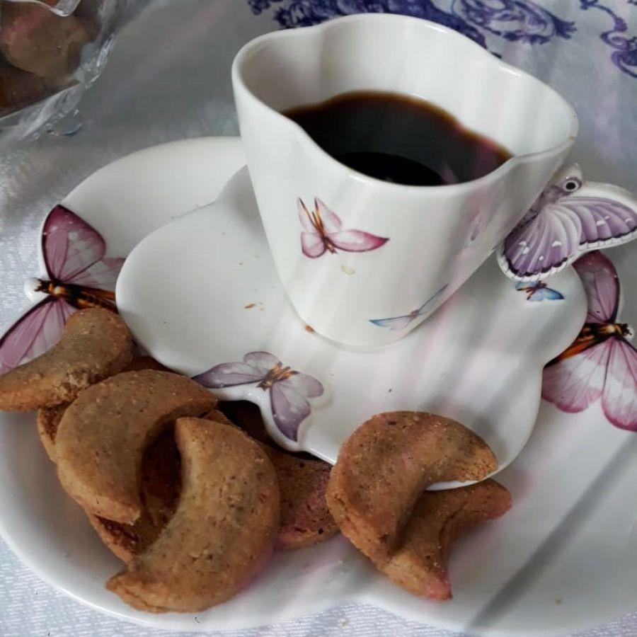 Biscoito alemão de Castanha de Caju Vanillekperfell Café com Petit Four - 500gr