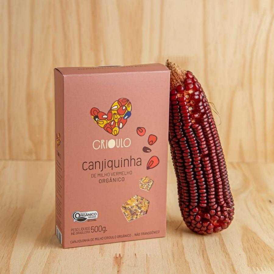 Canjiquinha de milho Vermelho Projeto Crioulo – Vista Alegre – 500gr
