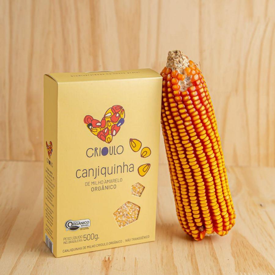 Canjiquinha de milho Amarelo Projeto Crioulo - Vista Alegre – 500gr