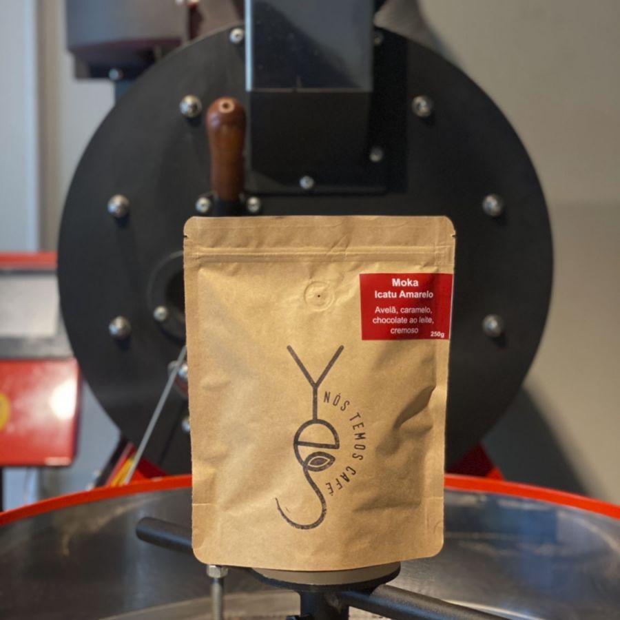 Café Moka em grãos (250g) Yes Nós Temos Café