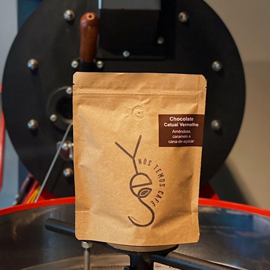 Café Chocolate moído (250g) Yes Nós Temos Café