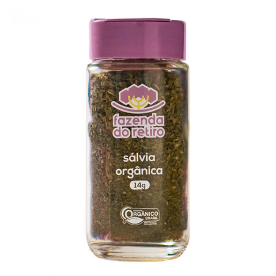Sálvia Orgânica Fazenda do Retiro - 14 gr