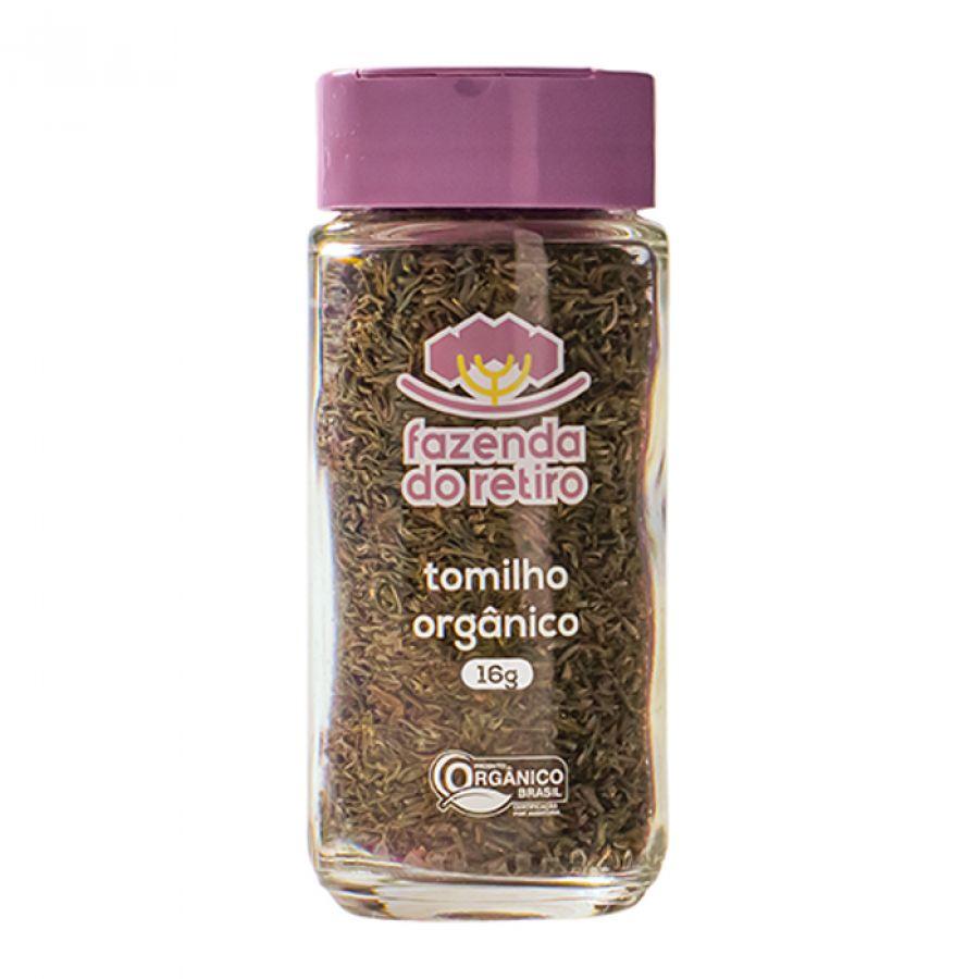 Tomilho Orgânico Fazenda do Retiro - 16 gr