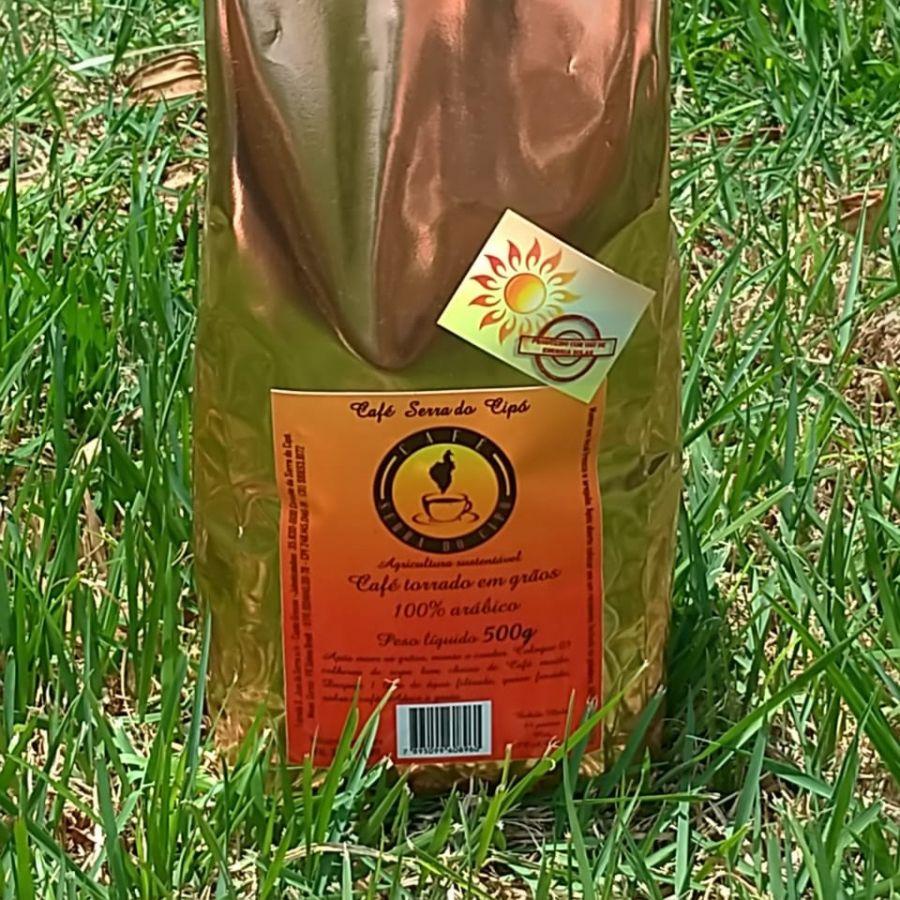 Café Serra do Cipó em grãos 500gr