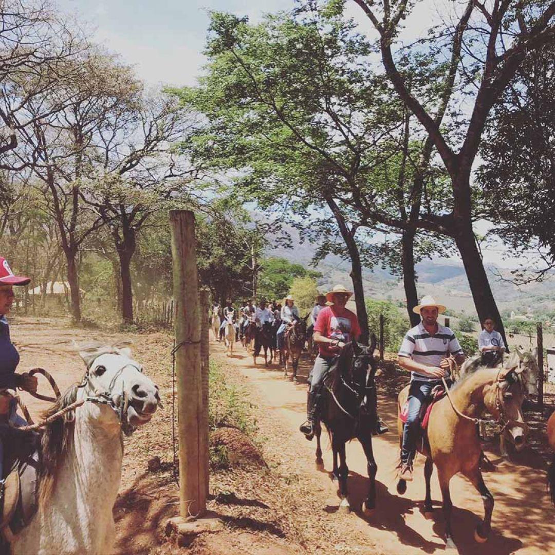 Cavalgada diurna Rancho Caminho das Tropas - 9 Outubro