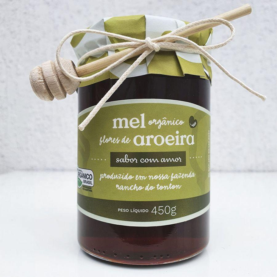 Mel Orgânico Flores de Aroeira Sabor com Amor - 450gr