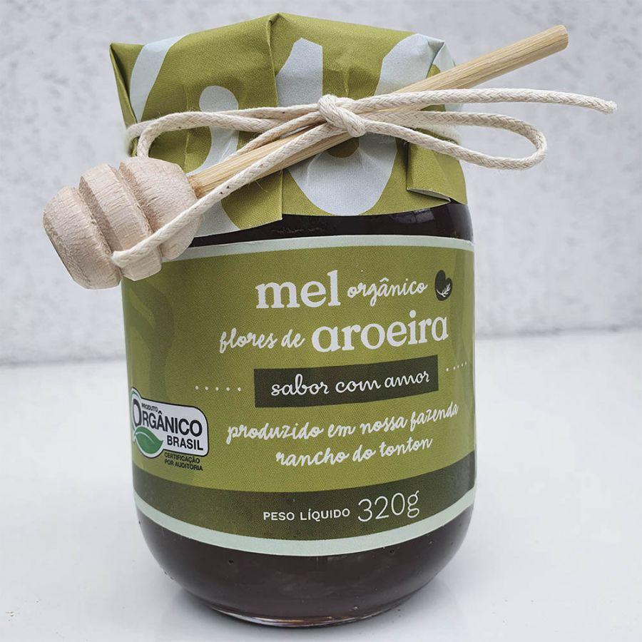 Mel Orgânico Flores de Aroeira Sabor com Amor - 320gr