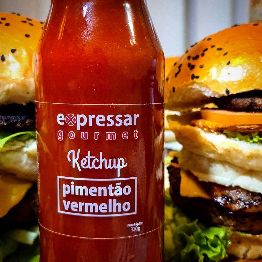Ketchup de Pimentão Vermelho Expressar