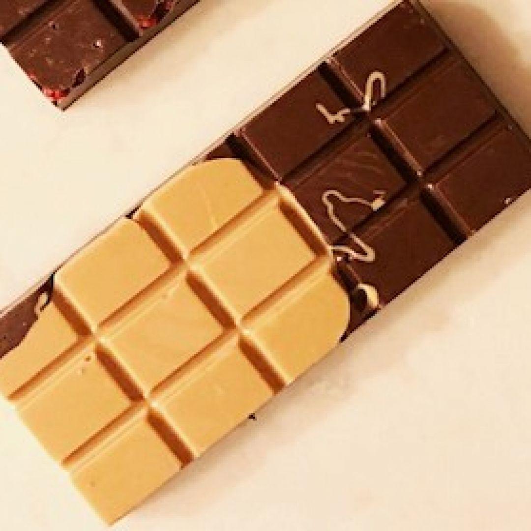 Barra de Chocolate Blend - Chocolate 70% com Chocolate Gold GiAngelis