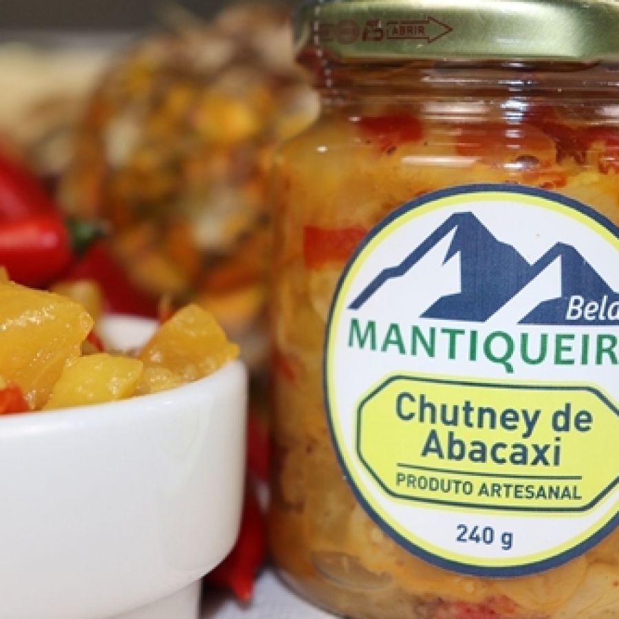 Chutney de Abacaxi com Curry Mantiqueira Bela