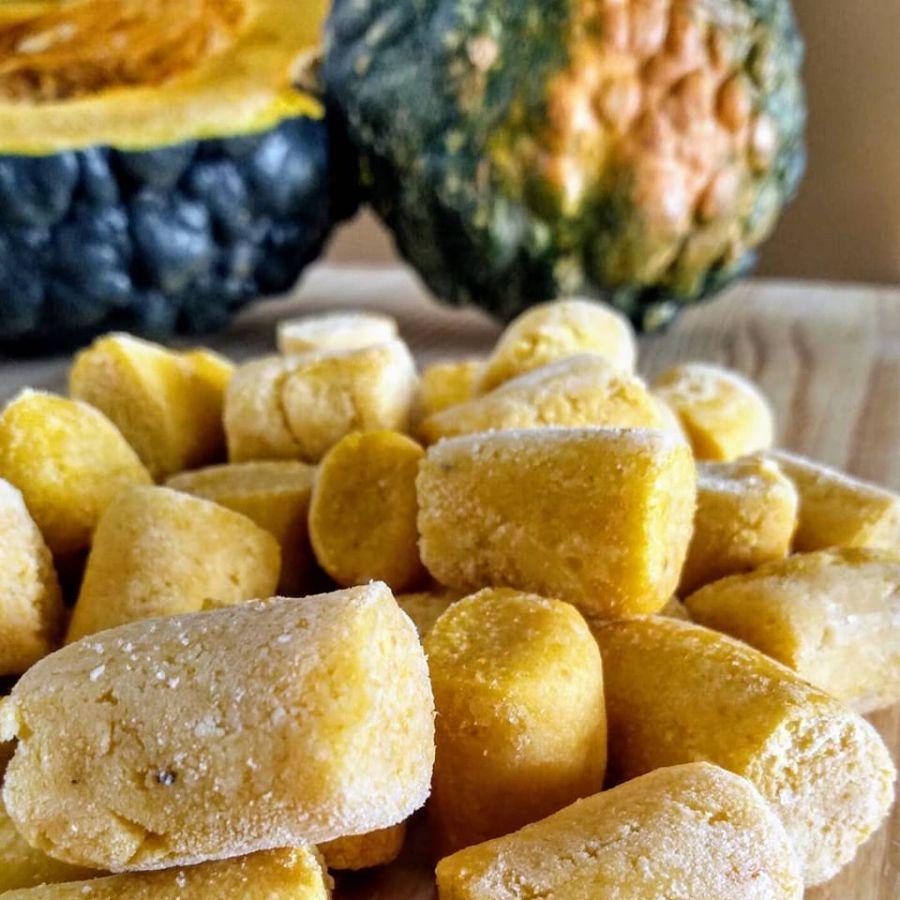 Gnocchi (nhoque) de Abóbora Nonna Rech