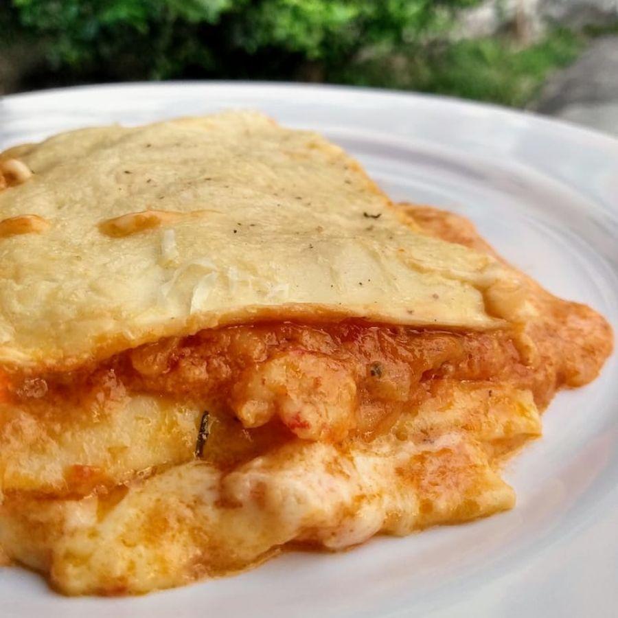 Lasanha de Camarão Nonna Rech (1,3kg)