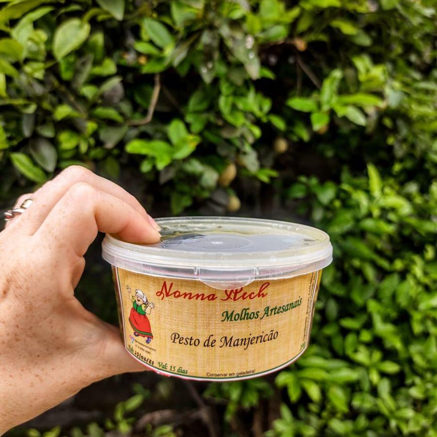 Pesto de Manjericão Nonna Rech