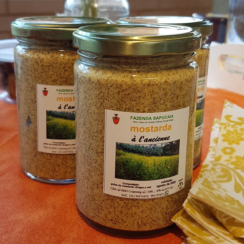 Mostarda a L'Ancienne Fazenda Sapucaia - 250gr