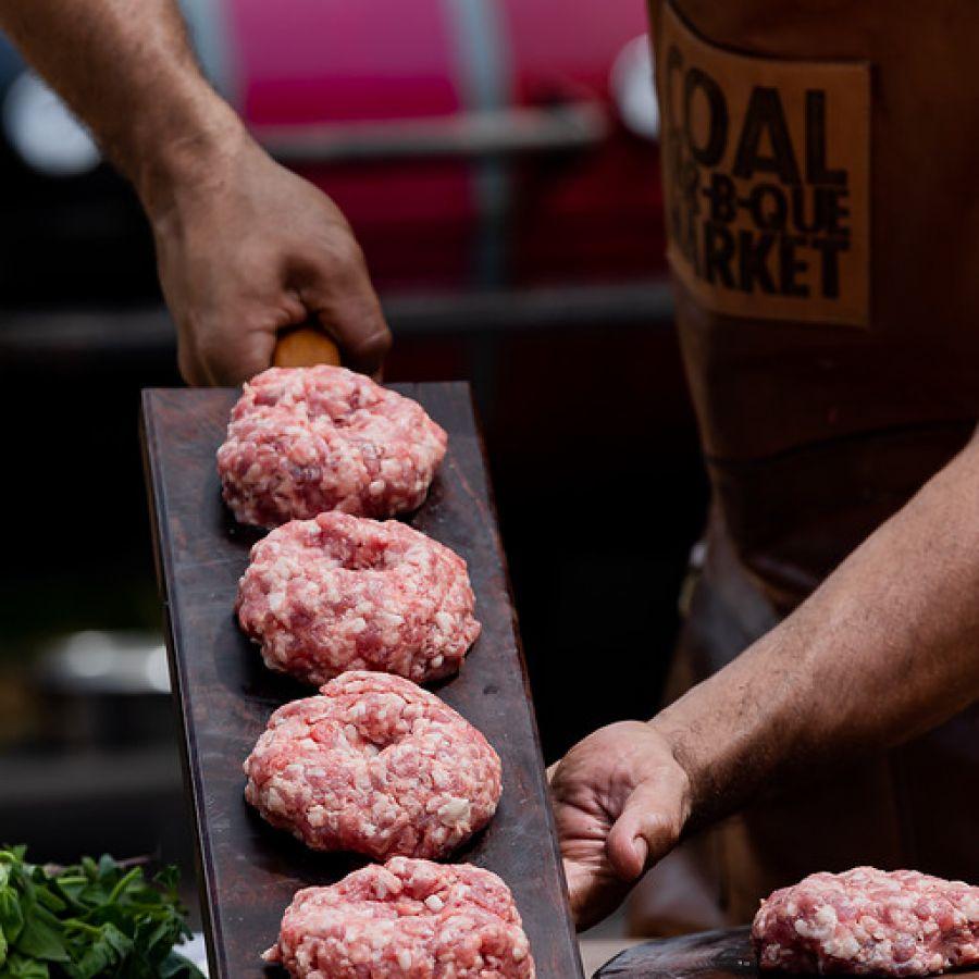 Burger Defumado de Cordeiro by COAL BBQ 160g - 2un