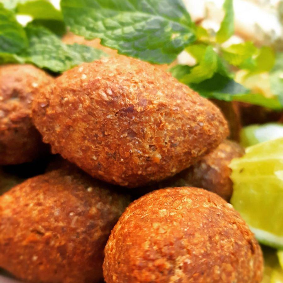 Quibe Alcici Frito (recheio árabe) - Congelado Alcici - 20 un