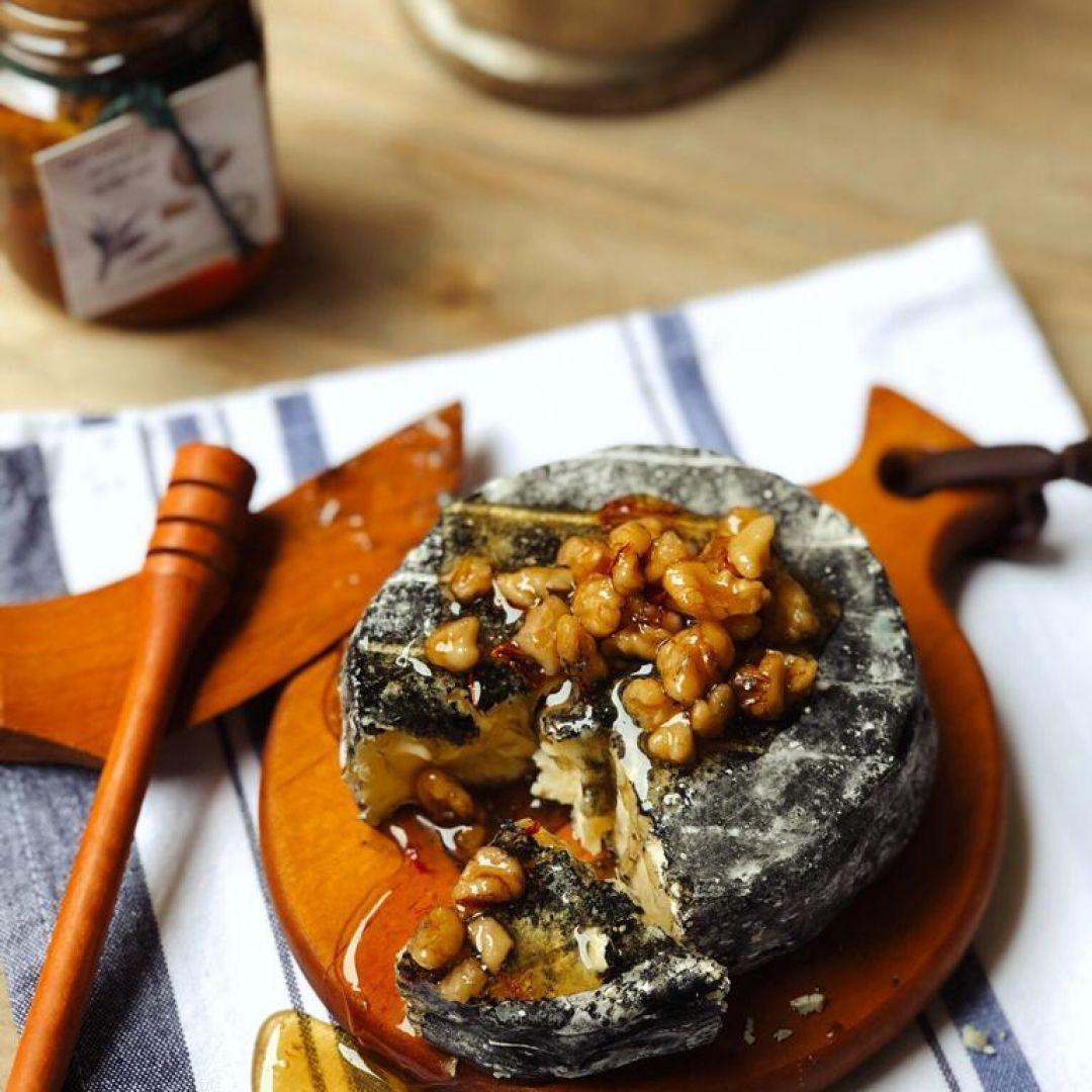 Mel com Nozes e Açafrão Provençal Gourmet