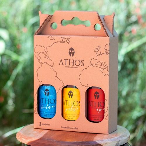 Athos - Kit 2 - Caixa Cerveja