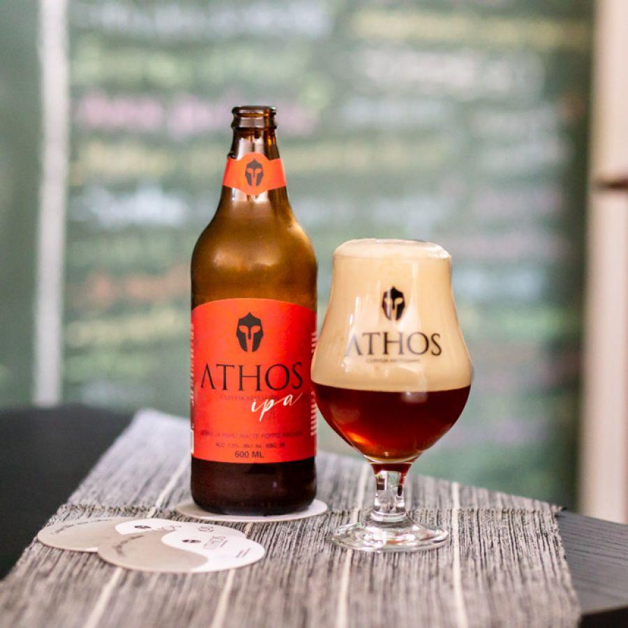 Athos - Pack Cerveja IPA 12un - 600ml (15% off)