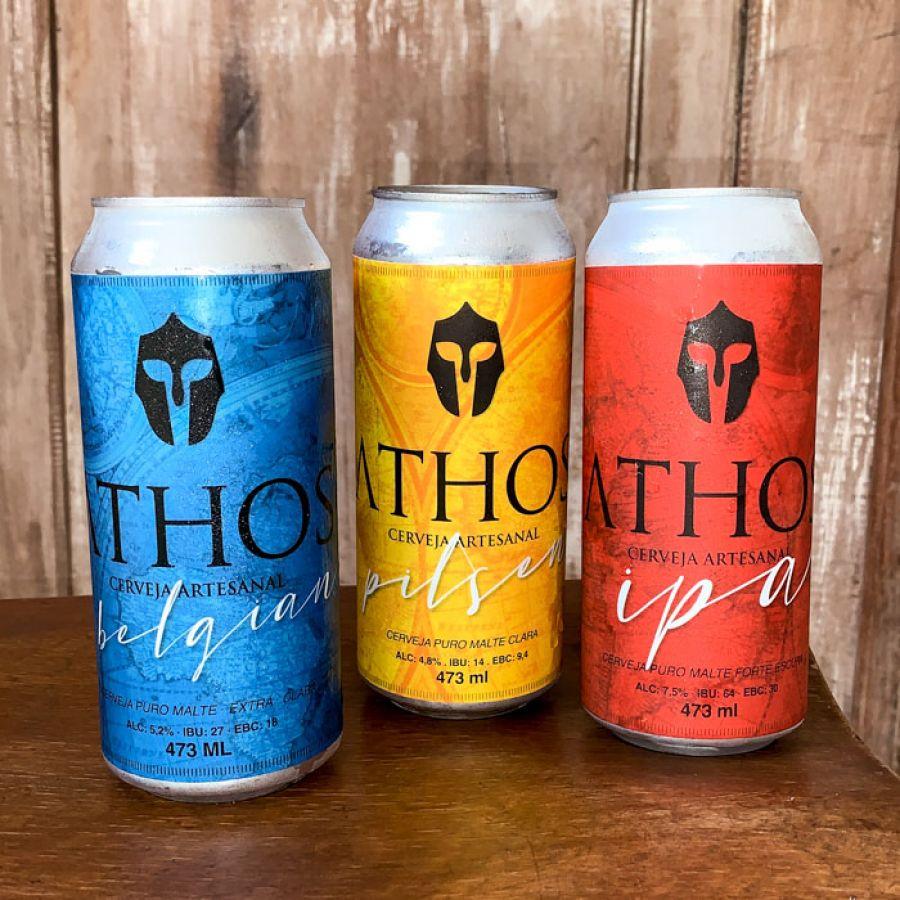 Athos - Pack Cerveja IPA 12un - 473ml (15% off)