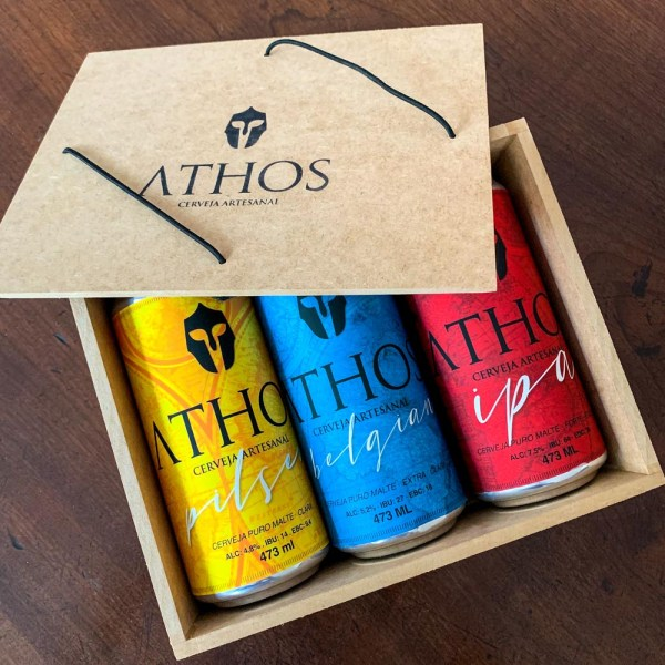Athos - Caixa Degustação Presente