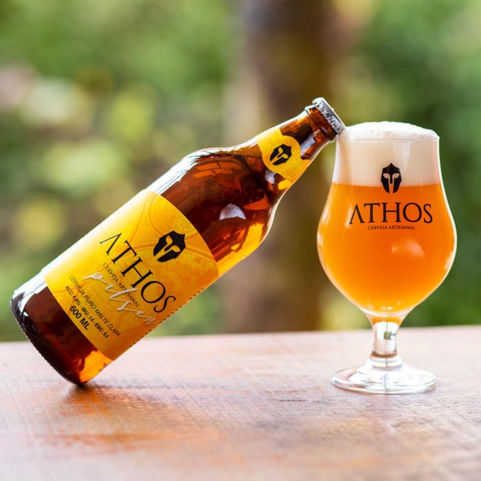 Athos - Cerveja Pilsen - 600ml