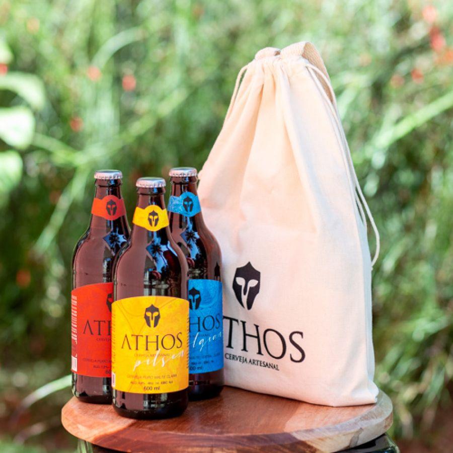 Athos - Kit 1 - Sacola Cervejas