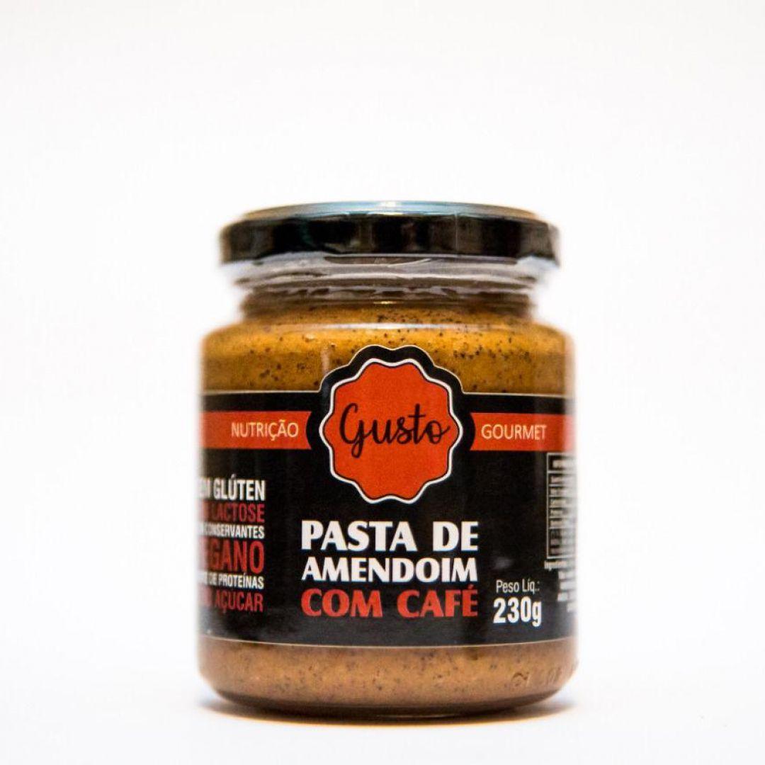 Pasta de Amendoim com Café Gusto Nutrição - 230g (Zero Açúcar)