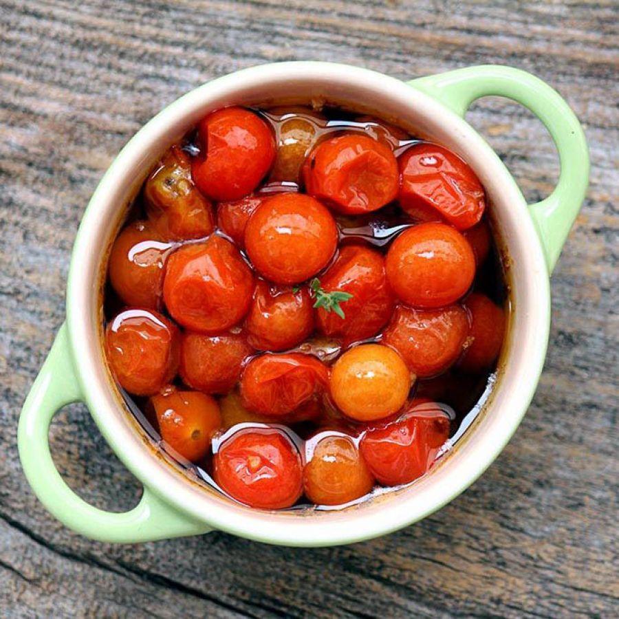 Tomatinho Confitado Tomilho Fresco